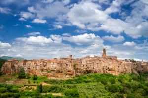 View of the Pitigliano, Italy