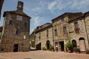 Sovana, Toscana, Italia